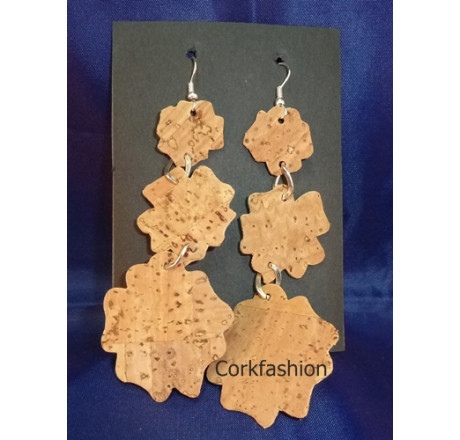Earrings (LC-822 model 4) from the manufacturer 3Dcork in category Corkfashion